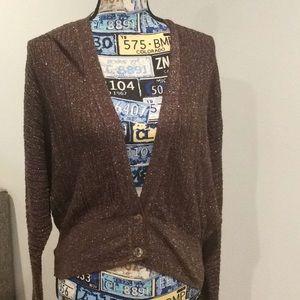Zara Sparkley Knit Cardigan NWT Sz S
